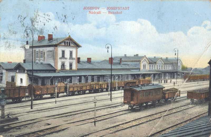 Josefov nádraží. J. Kratochvíl