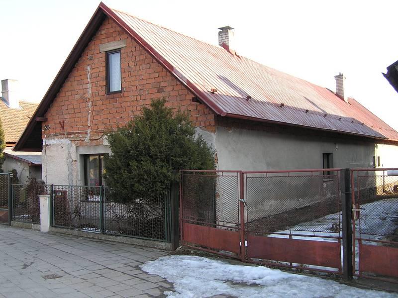 Rozdělení domu na dvě čísla popisné